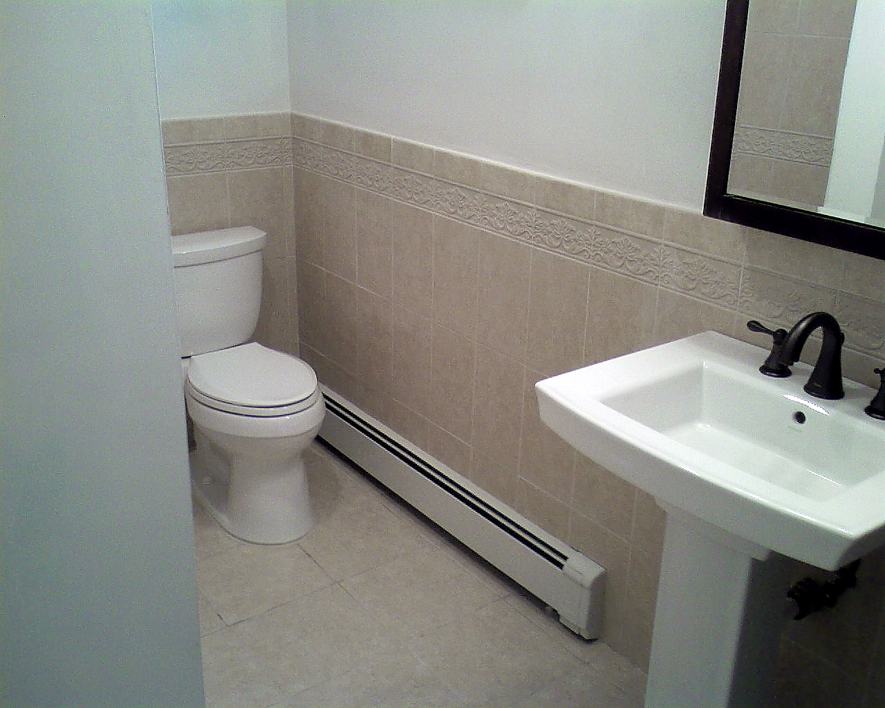 Total bathroom remodeling