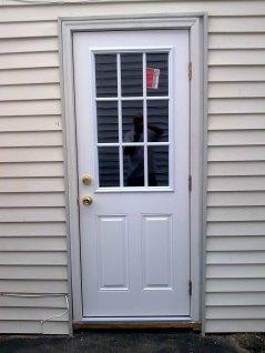 Mercurio Exterior Door