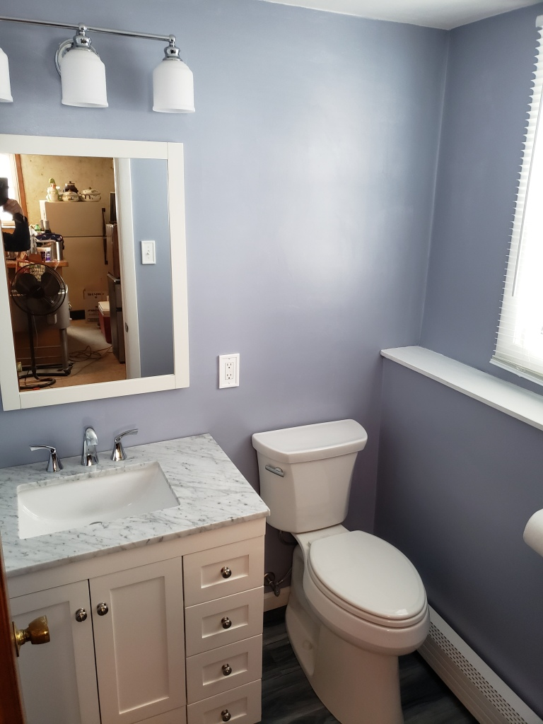 Half bathroom